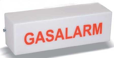 Gasalarm - Warnleuchte für Innenräume 230 V