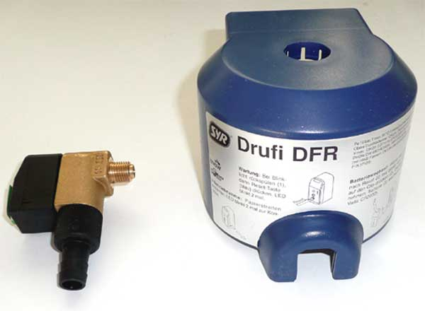 Austauschsatz für Kugelhahn ohne LED-Anzeige für alle DRUFI Classic