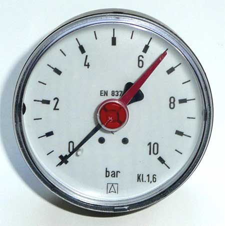 "Solar - Manometer 1/4"" axial"