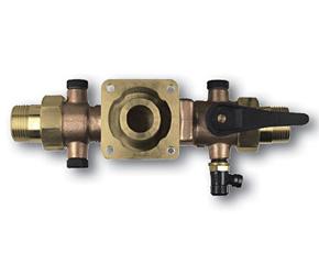 """HWS-Flansch 1"""" kpl.-Einheit mit Absperrungen, passend zu Drufi-Filter, MultiSafe und Protect"""