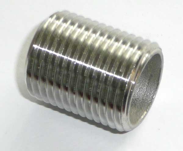 "Edelstahl Rohrnippel 3"" 60 mm"