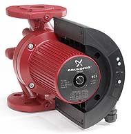 Hocheffizienz - Heizungsumwälzpumpe Grundfos MAGNA 50-100F mit integrierter Drehzalregelung