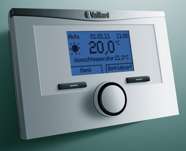 vaillant raumthermostat calormatic 350 digitaler. Black Bedroom Furniture Sets. Home Design Ideas